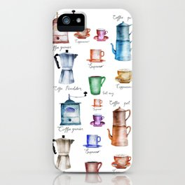 Coffee Time! iPhone Case