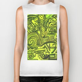 Green symbols Biker Tank