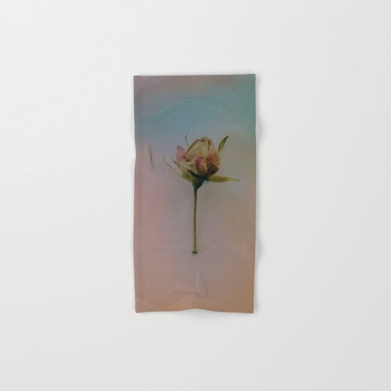 Once Upon a Time a Dancer Rose Hand & Bath Towel