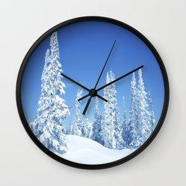 Winter 12 Wall Clock