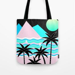 Hello Islands - Starry Waves Tote Bag