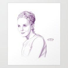 Amanda Abbington Art Print