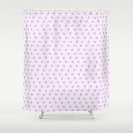 Dancing Fudge Sundaes in Purple Shower Curtain