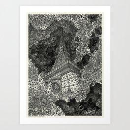 Paris - Extrusion - Visothkakvei Art Print