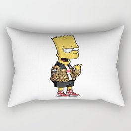 simpsons boys Rectangular Pillow