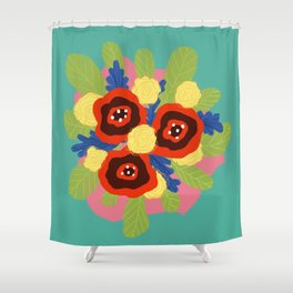 Bouquet #1 Shower Curtain