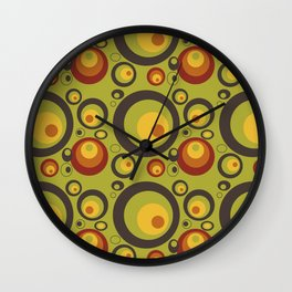 Retro abstract art: Baricco Wall Clock