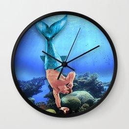 Merman Derek Wall Clock
