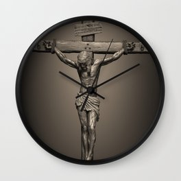 Jesus Crucifixion - For All of Us Wall Clock