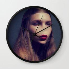 It Was You My Alien Beauty  Wall Clock