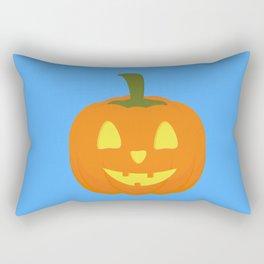 Classic light Halloween Pumpkin Rectangular Pillow