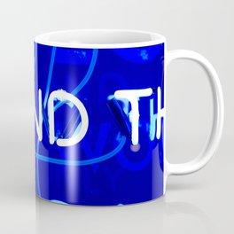 Blue Neon  Coffee Mug