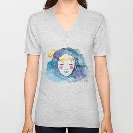 Nebula girl Unisex V-Neck