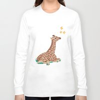 wonder Long Sleeve T-shirts featuring Wonder by Laura