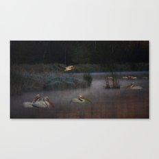 Pelican Lake Canvas Print