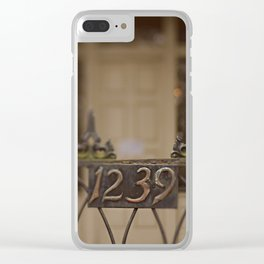 New Orleans 1239 Gate Clear iPhone Case
