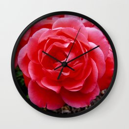 Rose 11 Wall Clock
