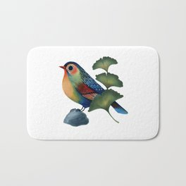 Ginkgo Bird Bath Mat