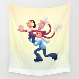 Winter Dance Wall Tapestry