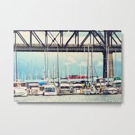 Tacoma Boats Metal Print