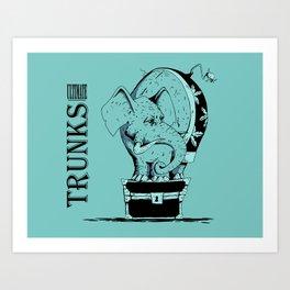 Ultimate Trunks Art Print