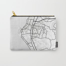 Pattaya Light City Map Carry-All Pouch