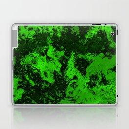 Galaxy in Green Laptop & iPad Skin
