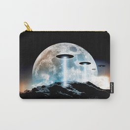 The Seeding (UFO Moon Mountain) Carry-All Pouch