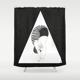 Am I weird or Flexible?- B Type Shower Curtain