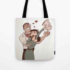 Lois & Clark Tote Bag