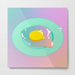 Cosmic Egg Metal Print