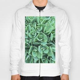 Green Stonecrop flowers Hoody