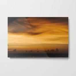 Top End Sunset Metal Print