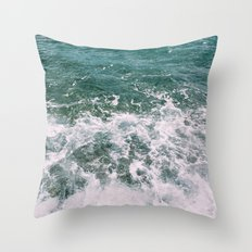 Deep Blue Sea II Throw Pillow