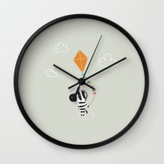 The Happy Childhood Wall Clock