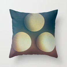 Third Cue  Throw Pillow