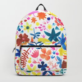 Autumm´s flowers Backpack