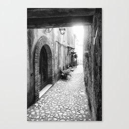 Medieval village in Italy #3 Canvas Print