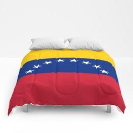 National flag of  Venezuela - Authentic version Comforters