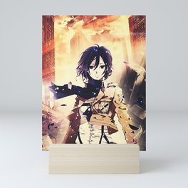 Mikasa AOT Mini Art Print