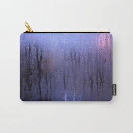 Purple Condensation Carry-All Pouch