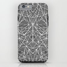 Abstract Lace on Black Tough Case iPhone 6