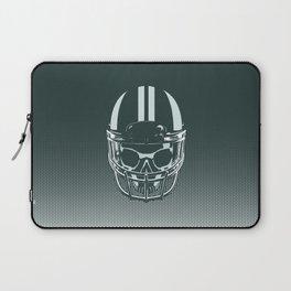 Final Touchdown - FADED CERULEAN Laptop Sleeve