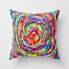 Circle of Love Throw Pillow