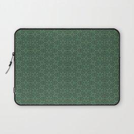 Green stars Laptop Sleeve