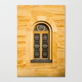 Neuschwanstein Window Canvas Print