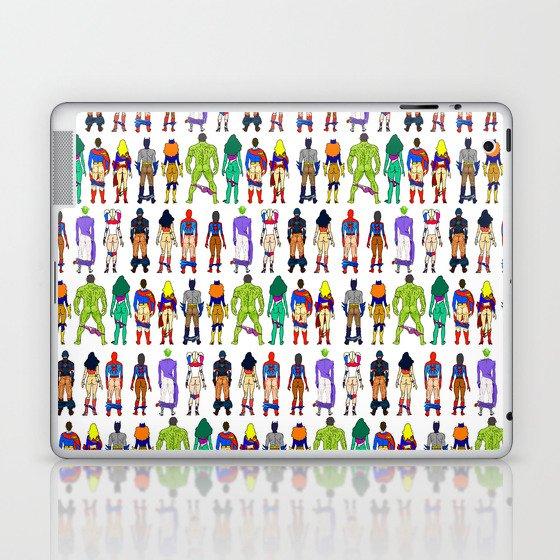 Superhero Butts - Power Couple Laptop & iPad Skin