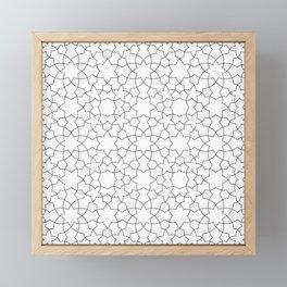 Minimalist Geometric 101 Framed Mini Art Print