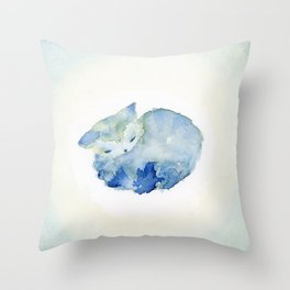Molly Like A Cloud Throw Pillow