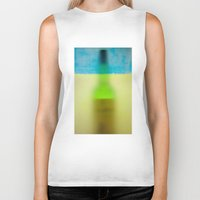 rothko Biker Tanks featuring rothko black & white by Arding